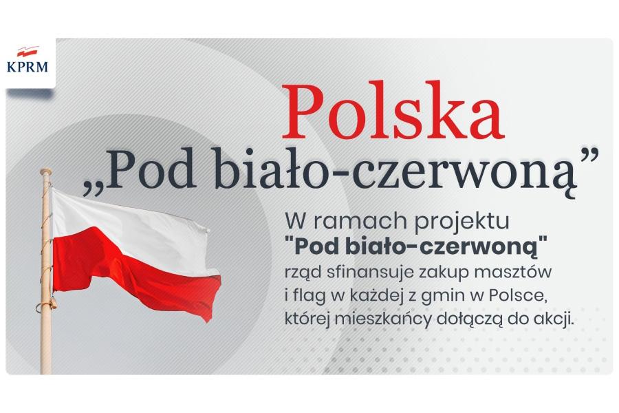 """Urząd Gminy iMiasta Witkowo przystąpił do Projektu """"Pod biało-czerwoną"""""""